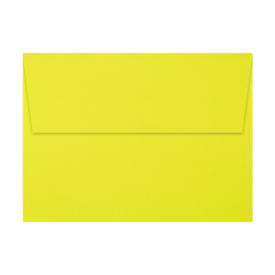 """LUX Invitation Envelopes With Peel & Press Closure, A7, 5 1/4"""" x 7 1/4"""", Citrus, Pack Of 50"""