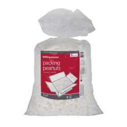 Office Depot® Brand Loose-Fill Packing Peanuts, 5 Cu Ft