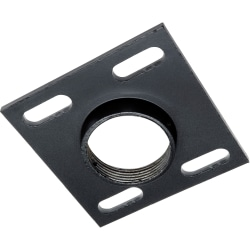 Peerless CMJ 300 - Mounting component (ceiling plate) - cold-rolled steel - black - ceiling mountable