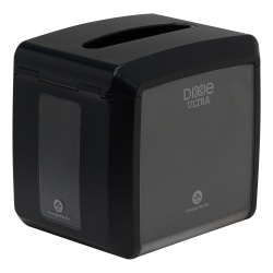 Dixie® Ultra Interfolded Tabletop Napkin Dispenser, Black
