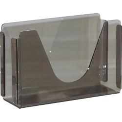 "Georgia-Pacific Countertop C-Fold/M-Fold Paper Towel Dispenser by GP Pro - C Fold, Multifold Dispenser - 7"" Height x 11"" Width x 4.4"" Depth - Plastic - Translucent Smoke - Durable, Washable"