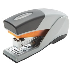 Swingline® Optima® 25 Compact Reduced Effort Stapler, Gray/Orange