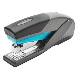 Swingline® Optima® 25 Reduced Effort Stapler, 25 Sheets Capacity, Blue/Gray
