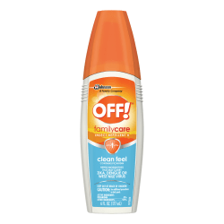 OFF! FamilyCare Insect Repellent Spray, 6 Oz