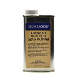 Grumbacher Linseed Oil, 8 Oz, Pack Of 2