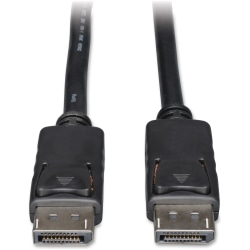 Tripp Lite 3ft DisplayPort Cable with Latches Video / Audio DP 4K x 2K M/M - (M/M) 3-ft.
