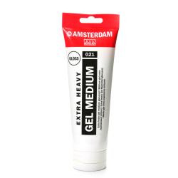 Amsterdam Acrylic Mediums, Extra-Heavy Gel, Glossy, 250 mL, Pack Of 2