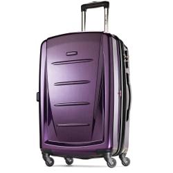 "Samsonite® Winfield 2 Polycarbonate Rolling Spinner, 28""H x 19""W x 12""D, Purple"