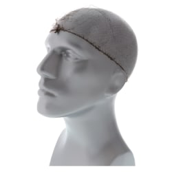 "Royal® Lightweight Latex-Free Nylon Hairnets, Dark Brown, 24"", Pack Of 144 Hairnets"
