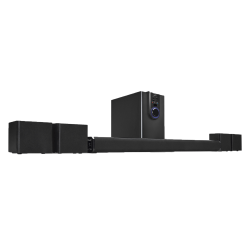 iLive 5.1 Home Theater System With Bluetooth®, Black
