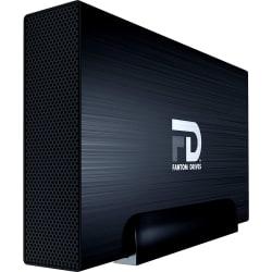 Fantom Drives FD GFORCE 6TB External Hard Drive - USB 3.2 Gen 1 5Gb/s & eSATA - Black