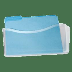 Rubbermaid Unbreakable Single Pocket Wall File, Legal, Clear