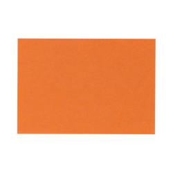 """LUX Flat Cards, A2, 4 1/4"""" x 5 1/2"""", Mandarin Orange, Pack Of 1,000"""