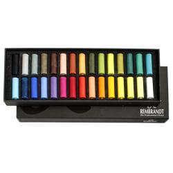 Rembrandt Soft Pastels, Half-Size, Assorted, Set Of 30