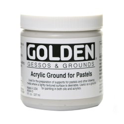 Golden Acrylic Ground For Pastels, 8 Oz