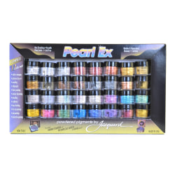 Jacquard Pearl Ex Powdered Pigments, Assorted, Set Of 32