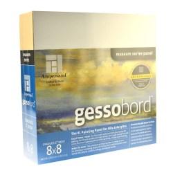 "Ampersand Deep Cradle Gessobord, 8"" x 8"""