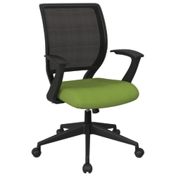 Office Star™ Work Smart Mesh Task Chair, Green/Black