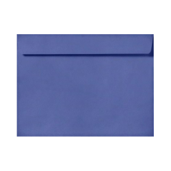 """LUX Booklet Envelopes With Moisture Closure, 6"""" x 9"""", Boardwalk Blue, Pack Of 500"""