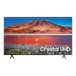 "Samsung UN70TU7000F - 70"" Class (69.5"" viewable) - 7 Series LED TV - Smart TV - Tizen OS - 4K UHD (2160p) 3840 x 2160 - HDR - New Direct Backlight - titan gray"