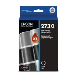 Epson® Claria T273XL020-S High-Yield Black Ink Cartridge