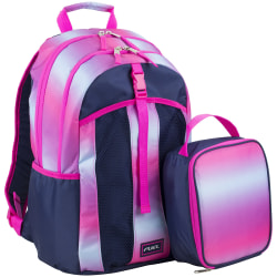 Fuel Deluxe Lunch Bag And Backpack Set, Gradient Ombre