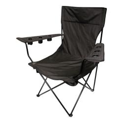 Creative Outdoor Giant KingPin Folding Chair, Black