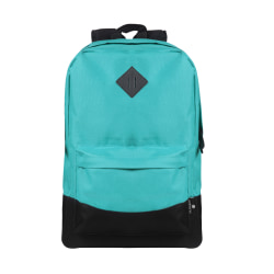 "Volkano Daily Grind Backpack With 18.1"" Laptop Pocket, Teal"