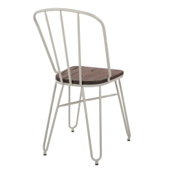 Office Star™ Charleston Folding Chairs, Gray, Set Of 2 Chairs