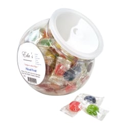 Eda's Sugar-Free Hard Candy, Mixed Fruit, 1 Lb Tub