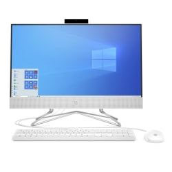 "HP 24-df0076 All-in-One PC, 23.8"" Touch Screen, AMD Ryzen™ 5, 8GB Memory, 1TB Hard Drive, Windows® 10 Home"