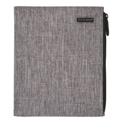 "Day-Timer® Undated Chambray Organizer Starter Set, 5-1/2"" x 8-1/2"", Gray"