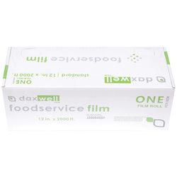 """Daxwell Food Film Wrap, 12"""" x 2,000', Clear"""