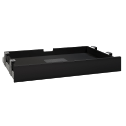 Bush Business Furniture Multi-Purpose Drawer With Drop Front, Black, Standard Delivery
