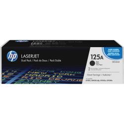 HP 125A Original Toner Cartridge - Dual Pack - Laser - 2200 Pages - Black