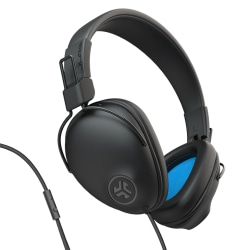JLab Audio Studio Pro Wired Over-Ear Headphones, Black