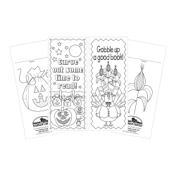 Barker Creek Bookmark Duets, Celebrate Autumn, Pack Of 60