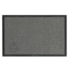 WaterHog Floor Mat, Eco Elite, 4' x 10', Gray Ash