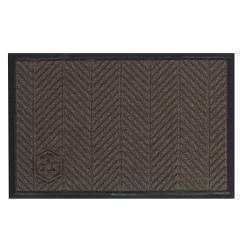 WaterHog Floor Mat, Eco Elite, 4' x 6', Chestnut Brown