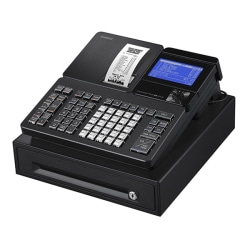 Casio® Single Tape Thermal Print Unit With Bluetooth® To App/Cloud, Black, SR-S820-BK