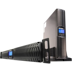 Minuteman 750 VA Line Interactive Rack/Wall/Tower UPS with 8 0utlets - 2U Wall Mountable, Rack-mountable, Tower - 9.70 Minute Stand-by - 120 V AC, 125 V AC Input - 8 x NEMA 5-15R
