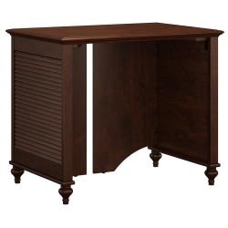 "kathy ireland® Home by Bush Furniture Volcano Dusk 34""W Desk, Coastal Cherry, Standard Delivery"