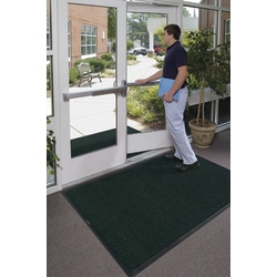 WaterHog Floor Mat, Classic, 6' x 12', Evergreen