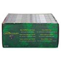 Compucessory Slim CD/DVD Jewel Cases - Jewel Case - Black - 1 CD/DVD