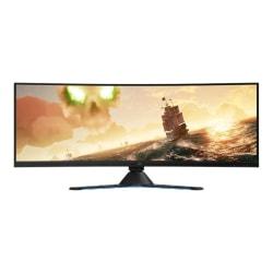 "Lenovo Legion Y44w-10 43.4"" DWUXGA Curved Screen WLED Gaming LCD Monitor - 32:10 - Raven, Black - 43"" Class - NearEdgeless - 3840 x 1200 - 16.7 Million Colors - FreeSync 2 - 450 Nit - 4 ms GTG (OD) - 120 Hz Refresh Rate - HDMI - DisplayPort"