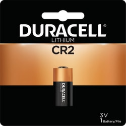 Duracell Photo 3-Volt Lithium CR2 Battery, Pack of 1