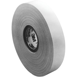 """3M™ 27 Glass Cloth Electrical Tape, 3"""" Core, 0.5"""" x 66', White, Case Of 50"""