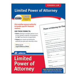 Adams® Limited Power of Attorney