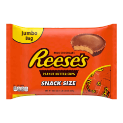 Reese's Snack-Size Peanut Butter Cups, 19.5 Oz Bag