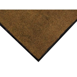 Colorstar Floor Mat, 4' x 10', Browntone